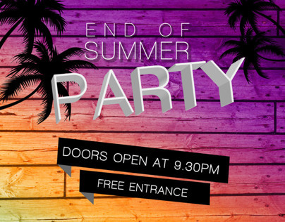 End of Summer Party