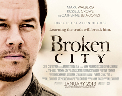 Mark Walberg - Broken City Movie Poster
