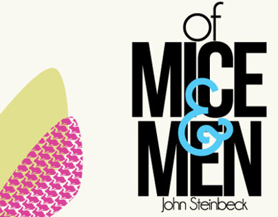 Of Mice and Men Book Cover - Redesign
