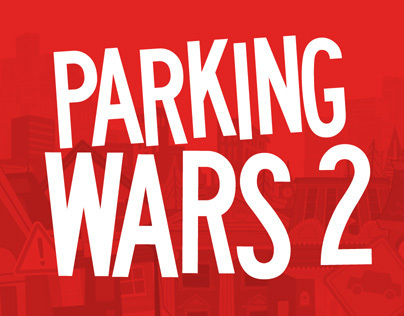 A&Es Parking Wars 2: E3 Promotion Collateral