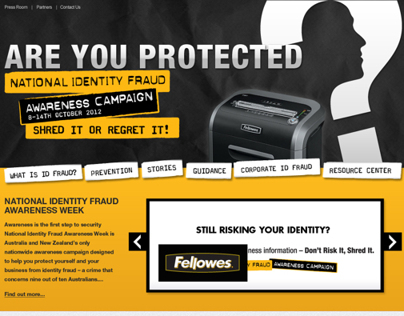 National Identity Fraud Awareness Campaign Website