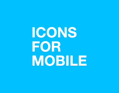 ICON For Mobile