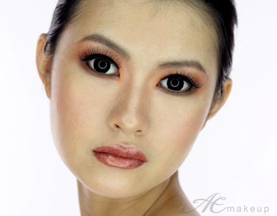 Chocolate and Colorful - Beauty make up 2012