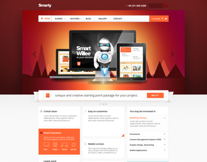 Smarty - Business Portfolio for Creative Agencies