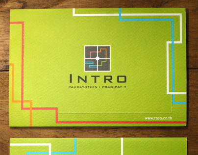A Brochure Design for Intro Condominium