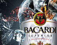 Bacardi Bar in Bottle for Deluxe Interactive, Moscow