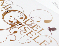 Miguel & Gisele Wedding Invite