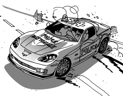 EA Games: Need For Speed 4 - Storyboard