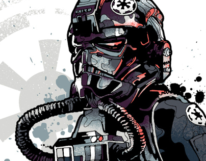 All new Star Wars / Addict clothing illustrations