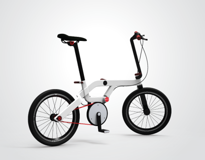 12 SPACE - URBAN FOLDING BICYCLE
