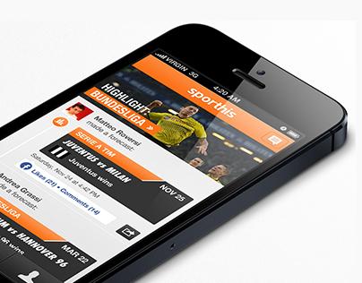 sporthis iPhone app