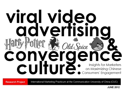 VIRAL VIDEO ADVERTISING WITHIN CHINESE CULTURE