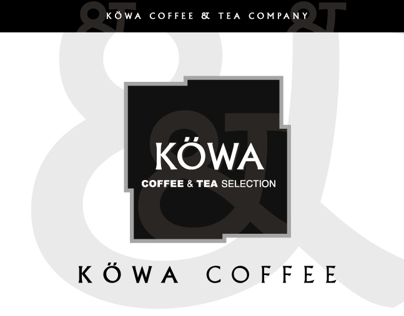 KÖWA COFFEE & TEA SELECTION