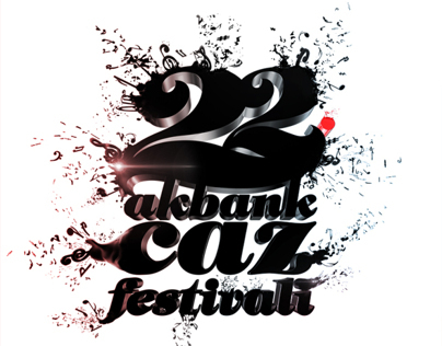 22. Akbank Jazz Festival Poster Illustration
