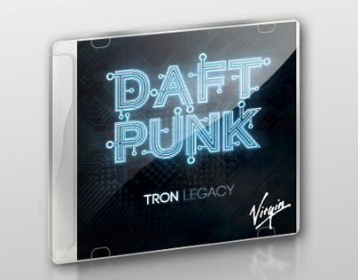 Cover design: Daft punk/TRON