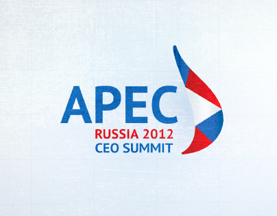 APEC CEO Summit, 2012. Design for screens