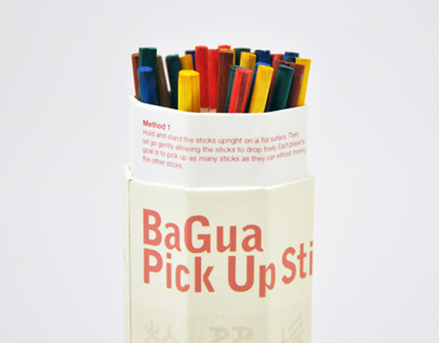Bagua Fortune-telling  Pick Up Sticks
