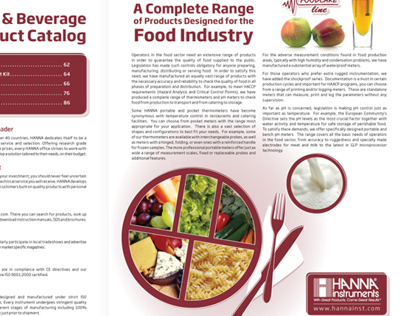 Food Industry Products Catalog