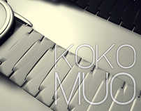 KOKO MUO. A new concept of analogical watch