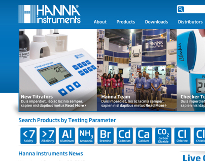 Hanna Instruments Web Interface