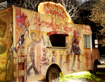 The Candyman Van (I Scream Truck)