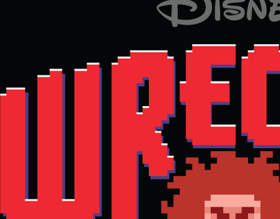 "Title Treatment for Disneys ""Wreck-It Ralph"""