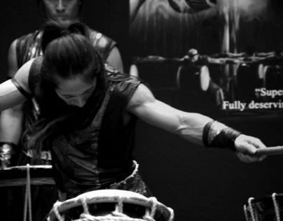 Moments in Greyscale: Drum Tao 2012