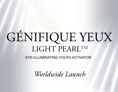 Lancome - Genifique Light Pearl: Interaction Design