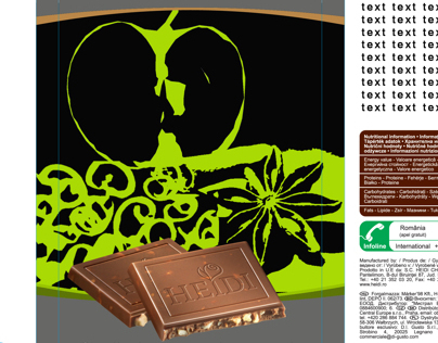 PACKAGE DESIGN COMPETITION HEIDI CHOCOLATE