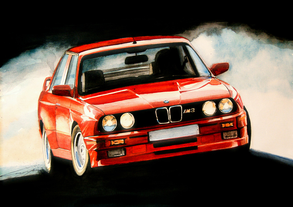 Das ist auto! (Water colour art works)