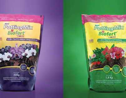 POTTINGMIX BIOFERT - Package Design