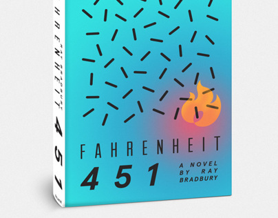 Fahrenheit 451 Re-Cover Project