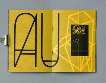 Solid Gold typeface