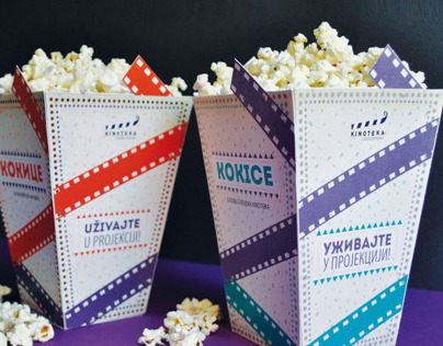 Yugoslav film archive - package design