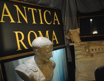 "SET-DESIGN//COLLANA RAI ""ANTICA ROMA"""