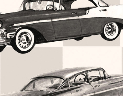 Car drawings/ automotive design