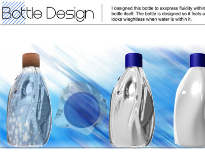 Fluid Bottle design