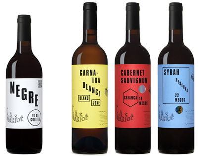 Casa Mariol wine collection