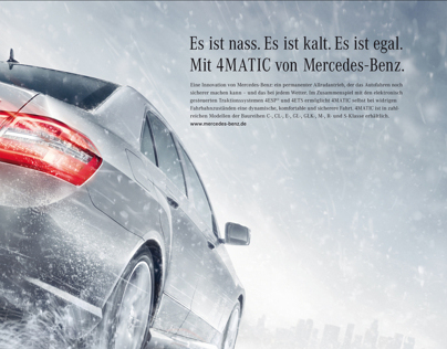 Mercedes-Benz Safety Features (Print)