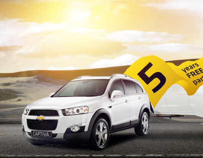Chevrolet Captiva Facebook Timeline Cover
