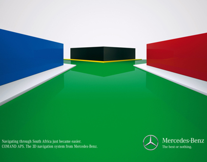 Mercedes-Benz 3D Flags (Print)