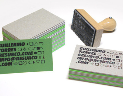 Resurco business cards