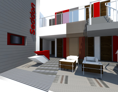 Head Office Sketchup