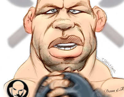 MMA Illustrations & Caricatures