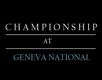 Championship At Geneva National 2012
