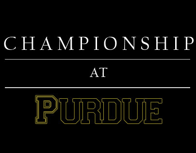 Championship At Purdue 2012