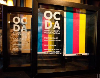 OC Design Award Trophies