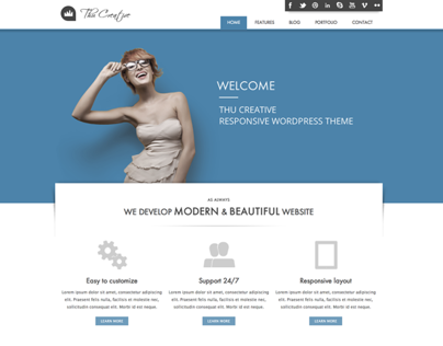 THU - Responsive Wordpress Theme