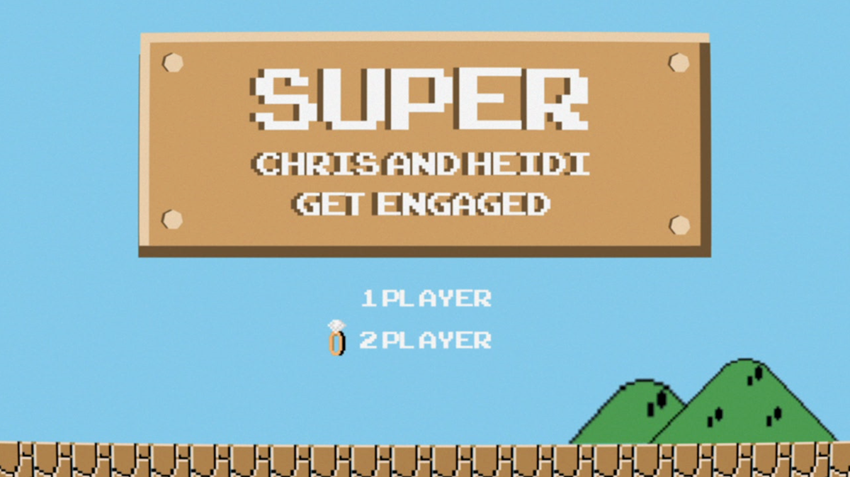 Super Chris & Heidi Get Engaged