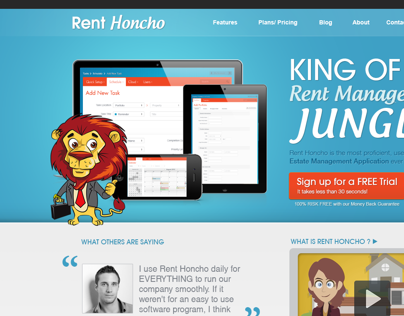 Rent Honcho Website
